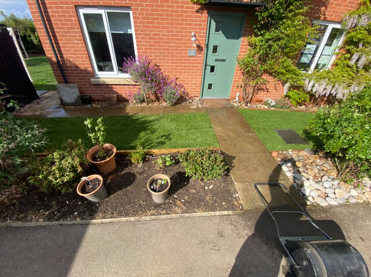 Front lawn re-turf