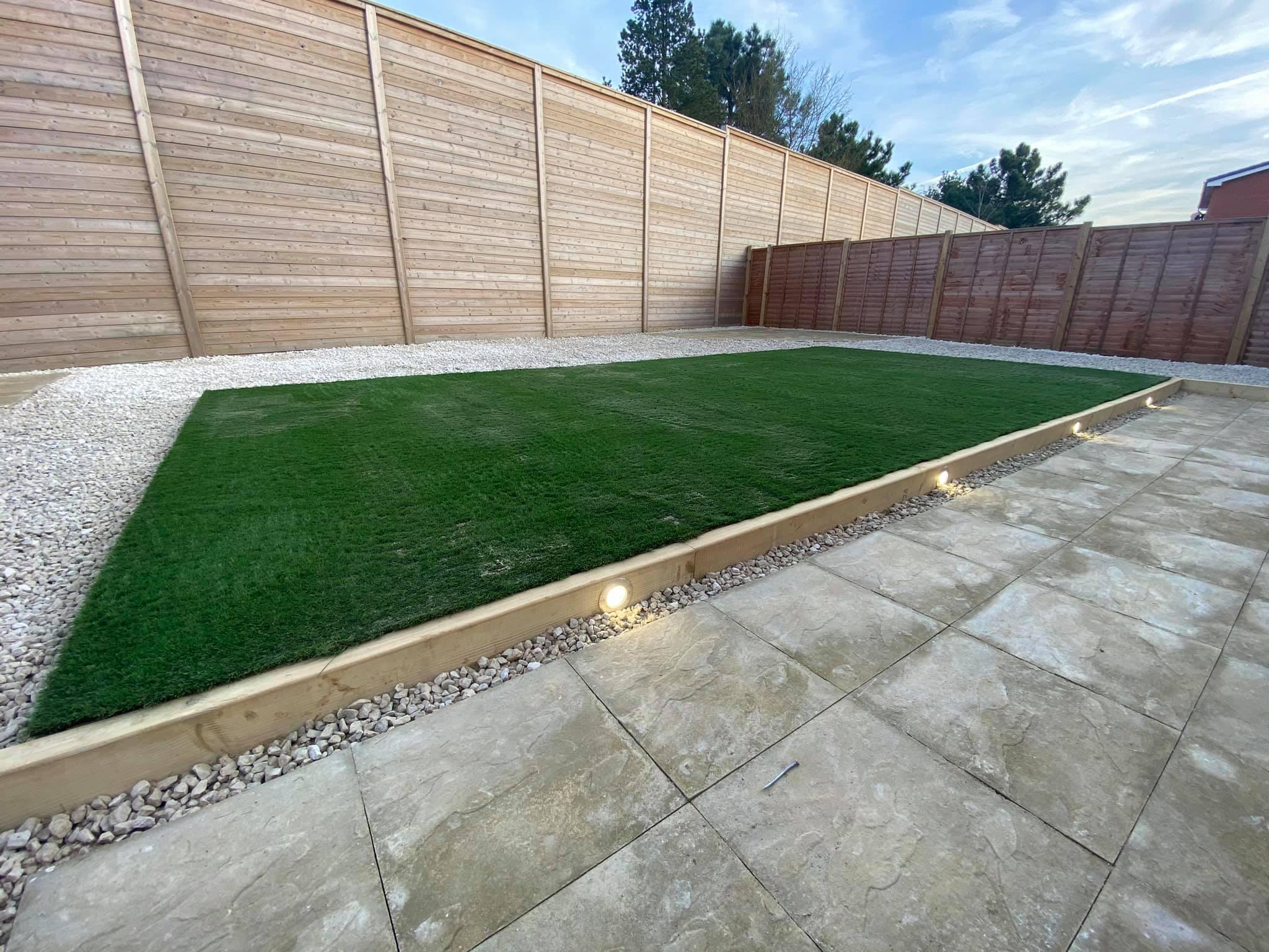 Huge 30 meter patio