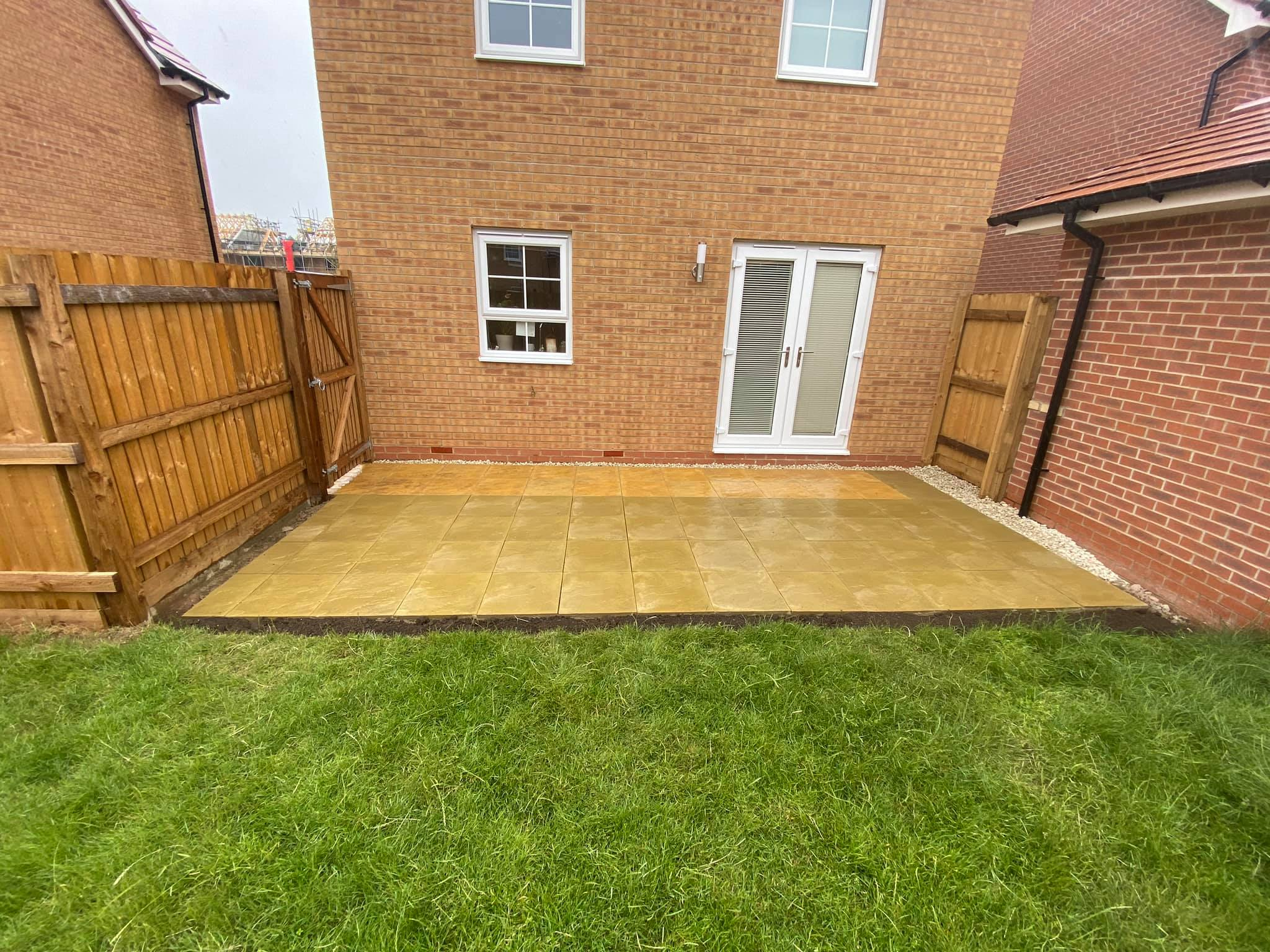 Extra Slabs and Shed Base
