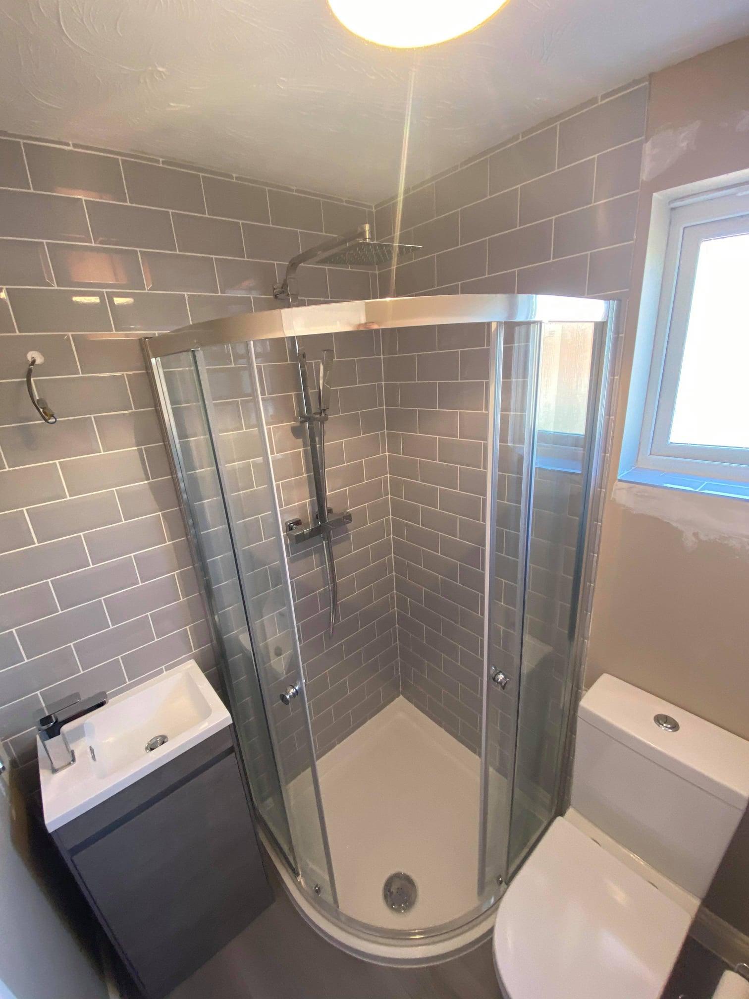 Downstairs W/C & Bathroom Refit